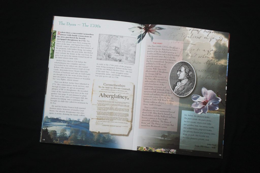 inside spread of guidebook 1