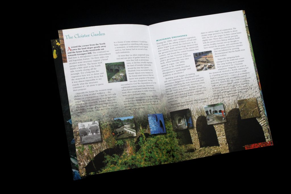 inside spread of guidebook 2