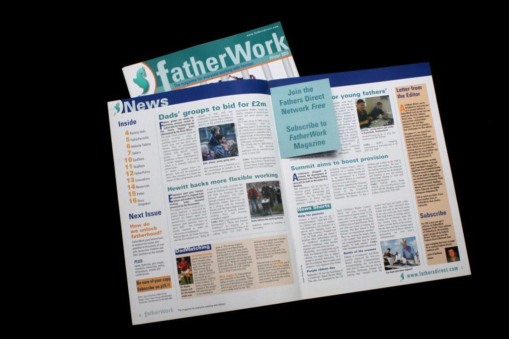 Fatherwork spread
