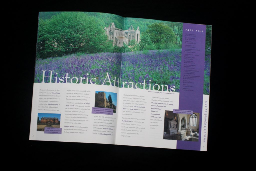 Wye Valley brochure spread 2