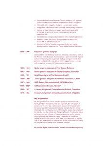 Alison CV page 2