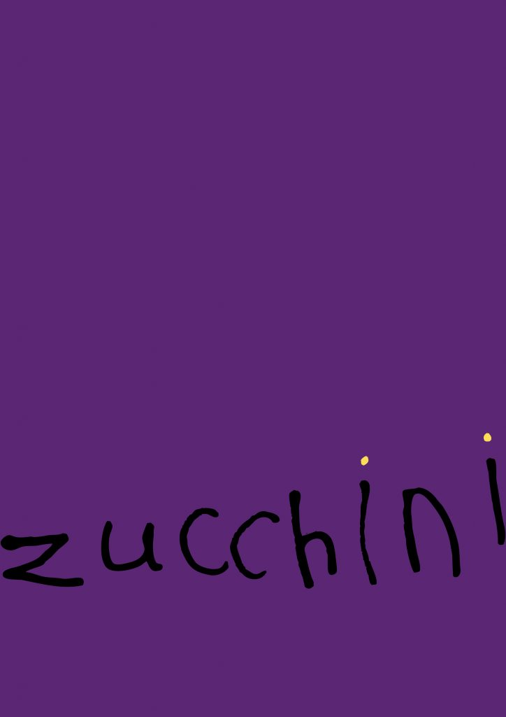 Alumni zucchini poster