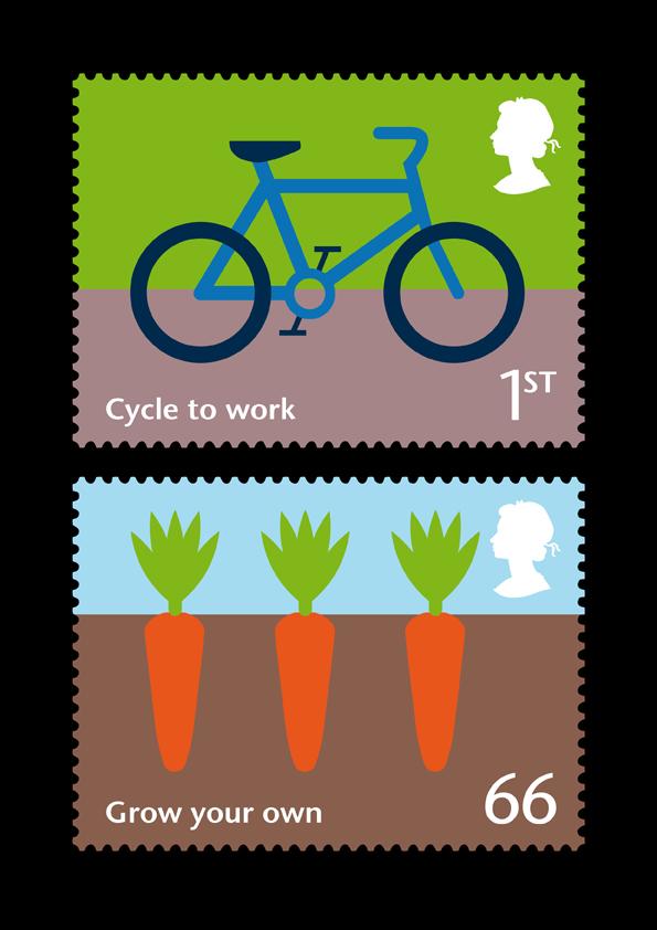 RSA stamps - set 2 (1&2)
