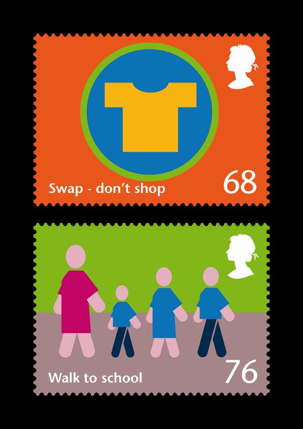 RSA stamps set 2 (4&5)