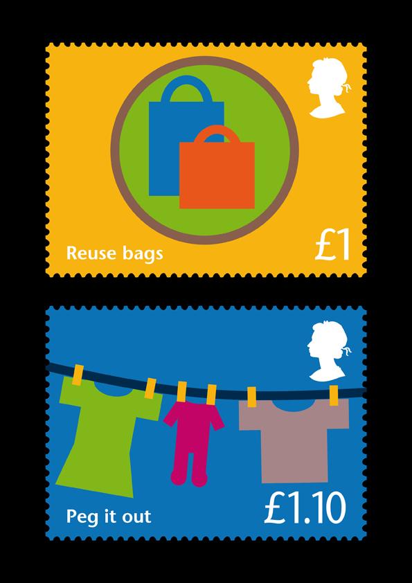 RSA stamps set 2 - 3